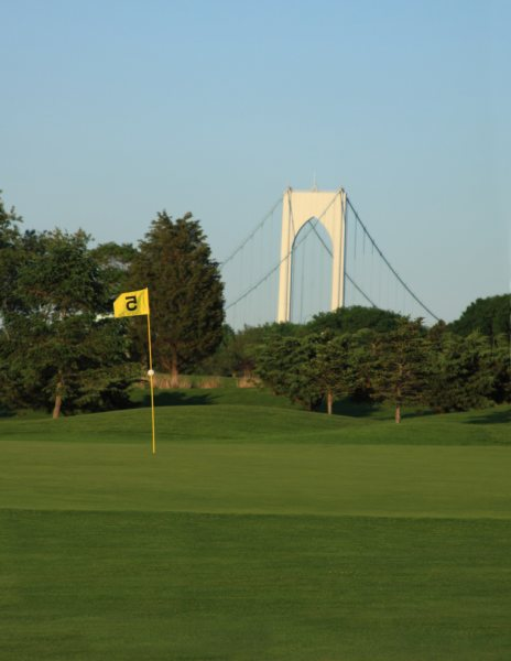 Flag Stick & Bridge View