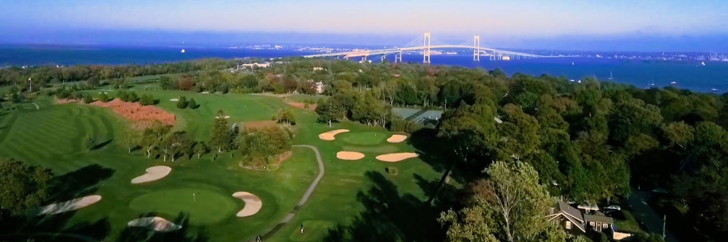 4K high definition aerial imagery of Jamestown Golf Course by Professional Aerial imaging